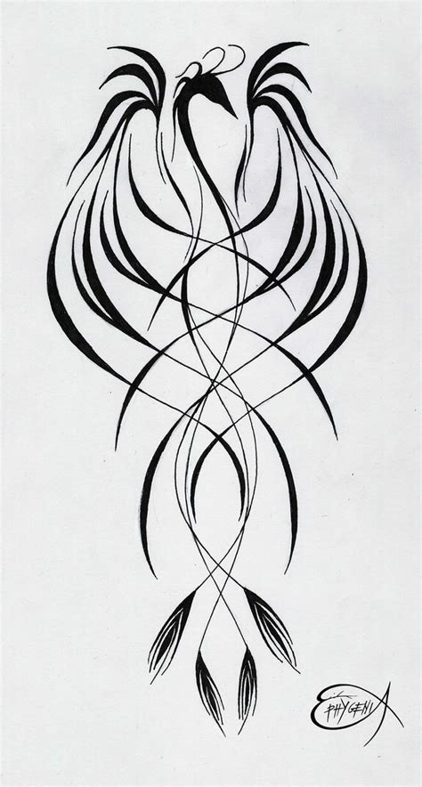 phoenix tattoo by ephygenia on deviantart