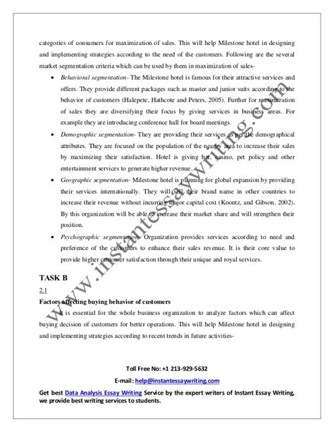 sles of essay writing sle report on sales development and merchandising by
