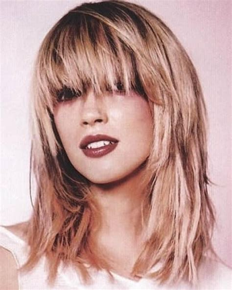 Layered Hairstyles With Bangs 2017 by Photo Gallery Of Hairstyles Layered With Fringe