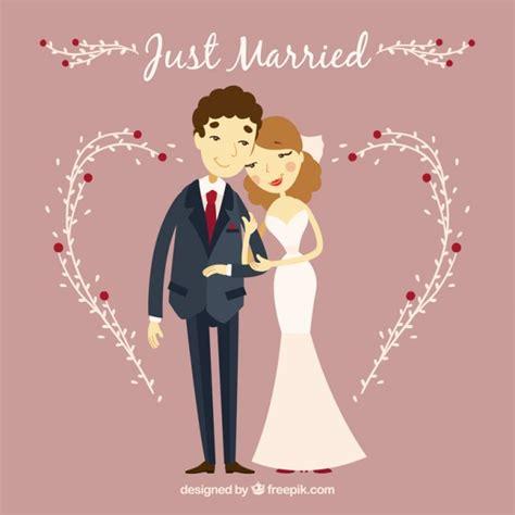 imagenes de amor para recien casados pareja de recien casados descargar vectores gratis