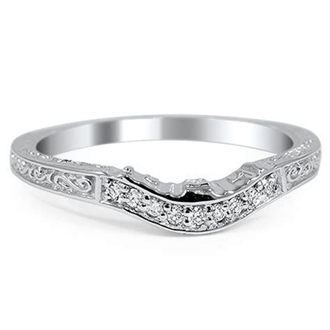Wedding Bands To Match Halo Rings by How To Match A Wedding Band Engagement Ring Brilliant