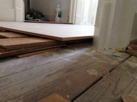 vloer egaliseren hout houten vloer egaliseren met hardboard