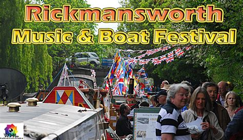 rickmansworth boat festival 2017 ricky music and canal boat festival hertfordshire