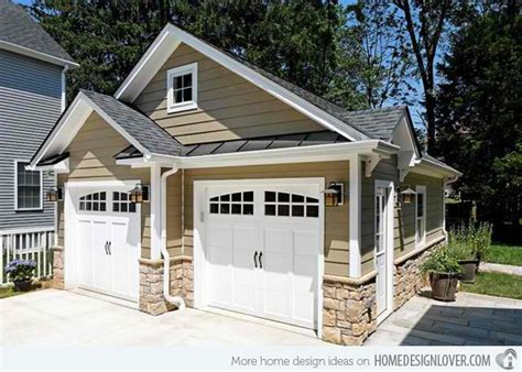 small 2 car garage homes cute 20 traditional architecture inspired detached garages