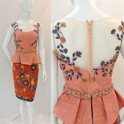 Merak Syari Dress Only 22 best fashion style images on kebaya indonesia batik dress and modern kebaya
