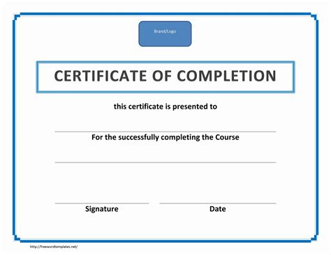 sample training course certificate lovely free sample training