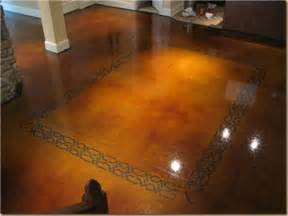 the many choices of stained concrete floors sheri martin