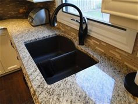 tropic brown granite with black silgranit sink kitchen 1000 images about kitchen redo on pinterest brown