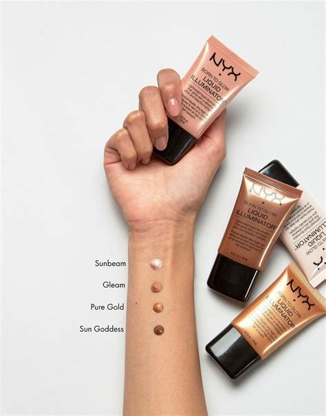 Nyx Born To Glow nyx born to glow liquid illuminator makeup shakeup official