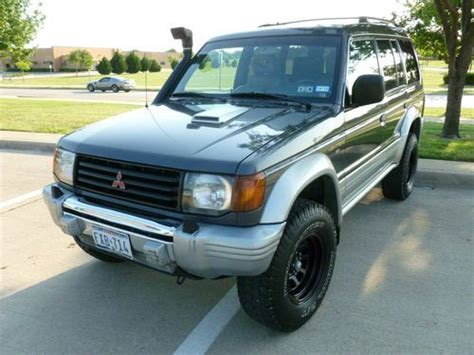 how do cars engines work 1997 mitsubishi montero sport electronic throttle control buy used 1997 mitsubishi montero sr 4m40 pagero turbo diesel engine 4x4 in dallas texas
