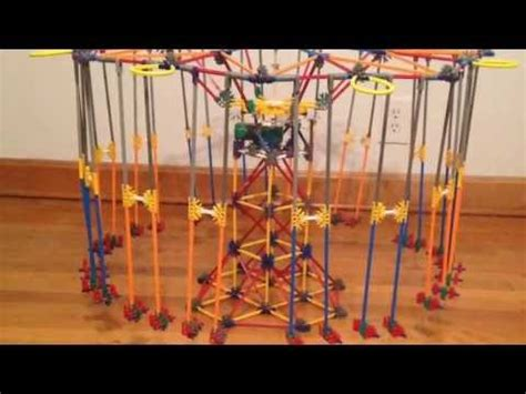 k nex swing ride instructions knex ferris wheel doovi