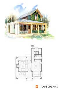 cottage house floor plans small 1 bedroom cottage floor plans and elevation by