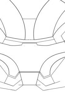 iron man helmet partial template for sintra lovers