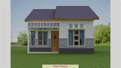contoh desain rumah sederhana youtube