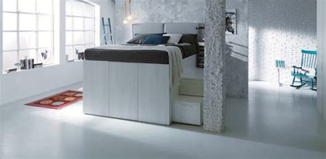dielle container bed saving container bed with hidden storage space home