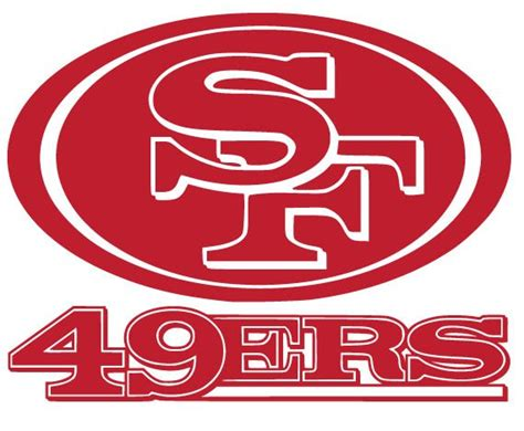 Drawing 49ers Logo by 49ers Symbol San Francisco 49ers Logo Vinyl Decal