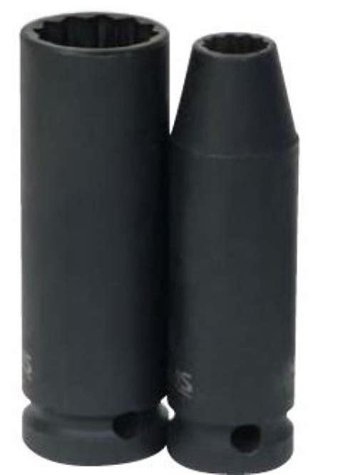 Kunci Sock 21mm 34 Drive Socket 12 Point Crossman Usa 1 2 drive metric 12 point impact socket 34mm j h williams 35934