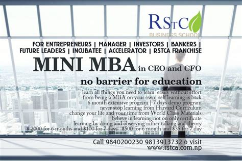 Ross Mba Financial Need Adjustment Form by Mini Mba For Ceo And Investors Rstca
