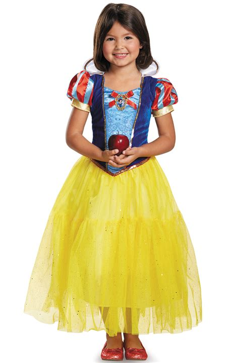 Kostum Snow White Deluxe disney snow white deluxe child costume purecostumes
