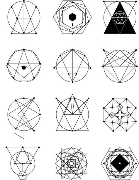 geometric tattoo flash geometric tattoos tat o pinterest geometric