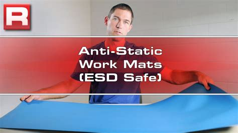 anti static desk mat anti static work mats esd safe overview youtube