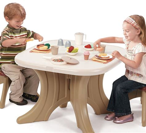 step 2 traditions table and chairs step2 traditions table chairs set at best price