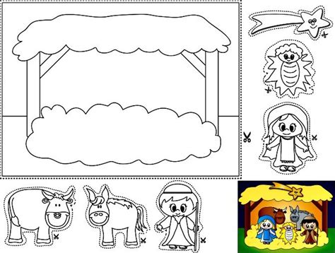 preschool coloring page nativity christain children worksheets and coloring pages