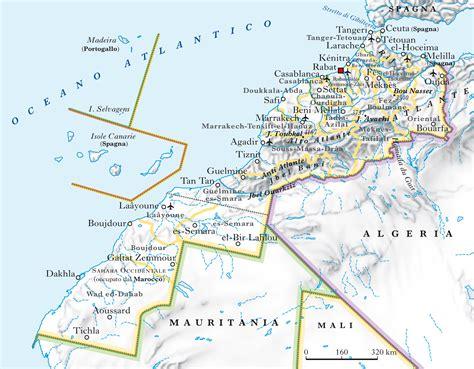 citt罌 e porto marocco marocco in quot atlante geopolitico quot