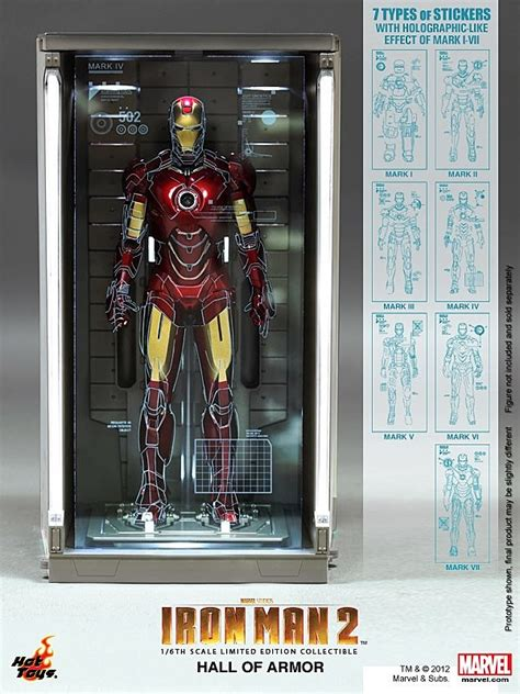 hot toys outfit iron man figure collectors