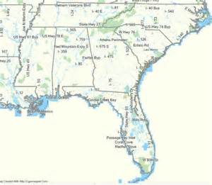 southeast highway map pictures to pin on pinsdaddy