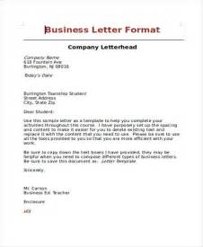 Business Letter Header Format Sample Professional Business Letter 7 Examples In Word Pdf