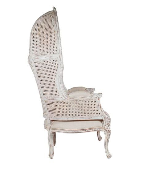 french canopy chair french style cane wingback canopy porters chair for sale