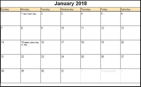 free editable calendar templates 2018 printable january 2018 calendars editable printable