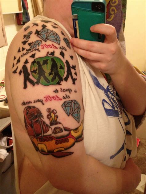 beatles tattoo
