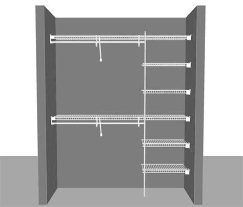 Superslide Shelving Closetmaid Wire Shelving Wardrobe Solutions Declutter