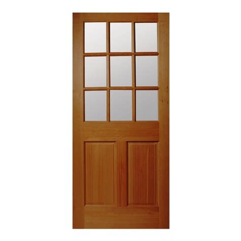 Wood Exterior Doors Lowes Reliabilt 32 36 Inch Hem Fir Wood Entry Door From Lowes Entrance Doors House