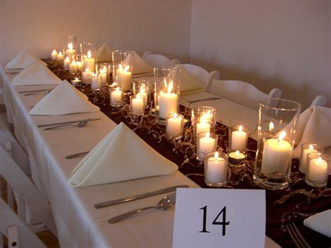 wedding decoration ideas with candles wedding candle decorations and centerpieces wedwebtalks