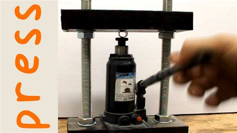 make your own bench press diy 5 ton hydraulic press youtube