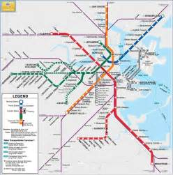 Map Of Boston T by Metro Boston Quot T Quot Mbta Map You Can Take The Out Of