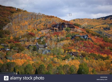 steamboat usa fall colors in steamboat springs colorado usa stock photo