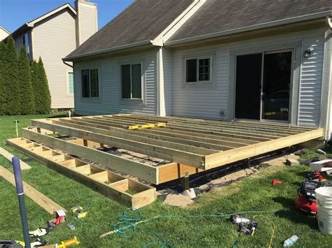 Diy Deck Plans by How To Build A Floating Deck 187 Rogue Engineer