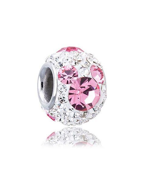 disney october birthstone stainless steel bead charm