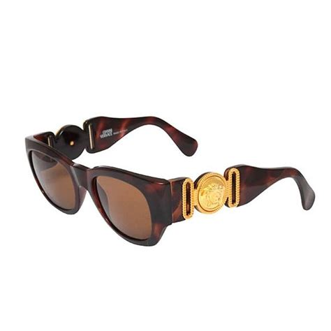 Sunglas Versace Mod4286 1 vintage gianni versace sunglasses mod 413 a brown for sale at 1stdibs