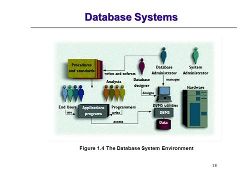 design of the environment for computer system database systems design implementation and management