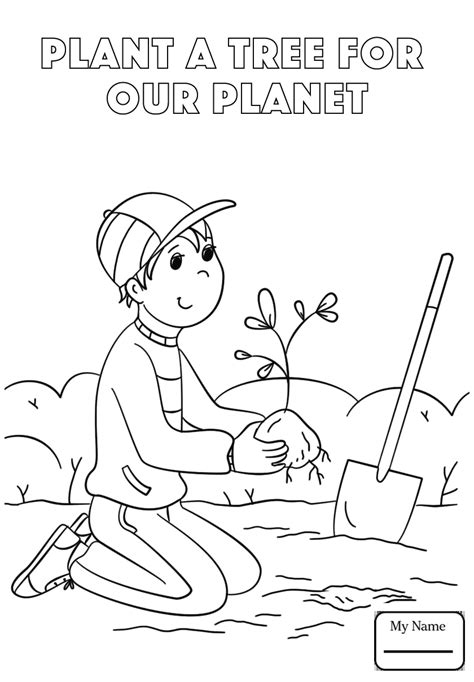 plant coloring pages 25 free printable arbor day coloring pages