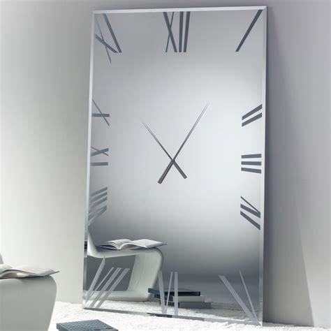 Square Living Room Clocks Titanium Rectangular Clock Clocks Living Room