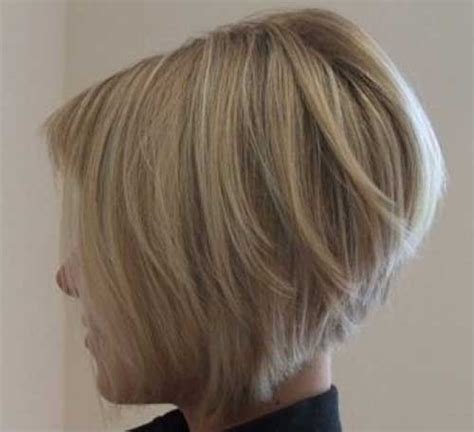 short stacked haircuts for fine hair that show front and back stacked bob haircuts for thin hair hairstylegalleries com