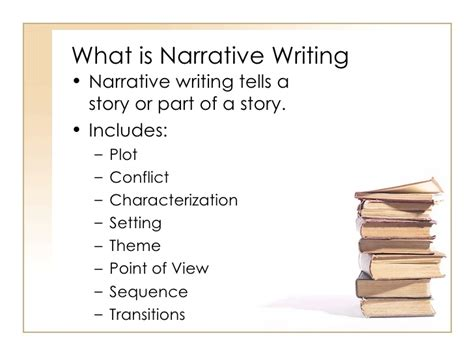 What Is Literature Essay by Narrative And Descriptive Writing Ppt