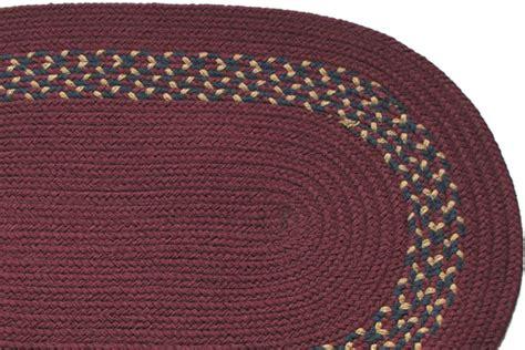 burgundy braided rug burgundy burgundy navy camel band braided rug