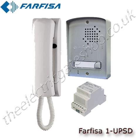 farfisa clickit audio intercom